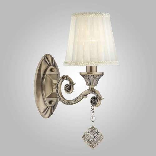 Настенный светильник в стиле классика 60042/1 античная бронза Eurosvet