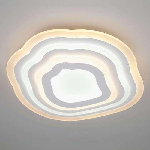 Потолочный светодиодный светильник с пультом управления 90119/4 белый Eurosvet