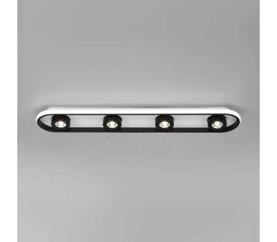 Потолочный светодиодный светильник 20123/4 LED белый/черный Eurosvet от Eurosvet в магазине декоративного освещения Питерский свет