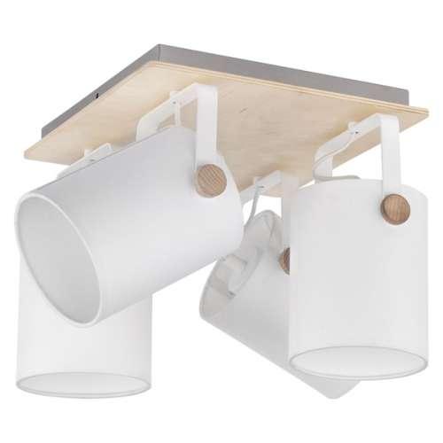 Потолочный светильник с поворотными абажурами 1615 Relax White TK Lighting