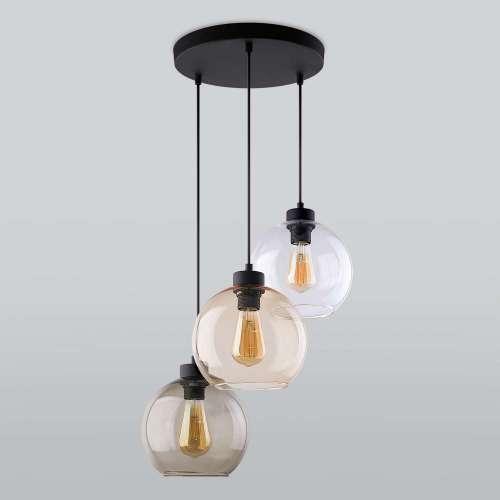 Подвесной светильник со стеклянными плафонами 2831 Cubus TK Lighting