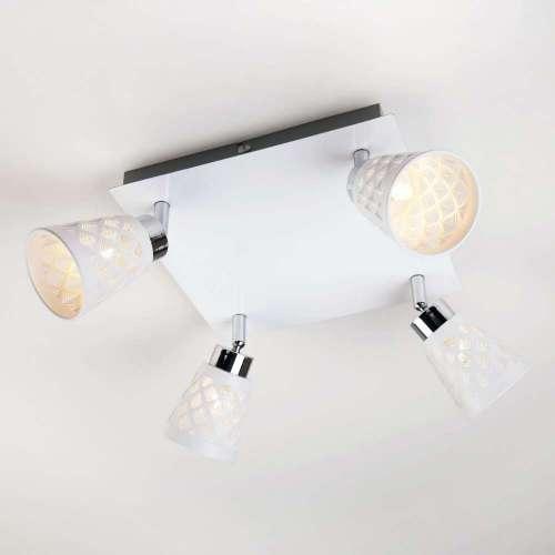 Потолочный светильник с поворотными плафонами 20060/4 белый Eurosvet