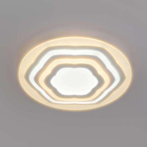 Светодиодный потолочный светильник с пультом управления 90117/4 белый Eurosvet