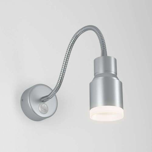 Molly LED серебро Светодиодный светильник с гибким основанием MRL LED 1015 Elektrostandard