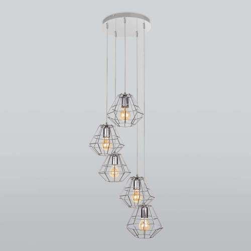 Подвесной светильник 4289 Diamond Silver TK Lighting