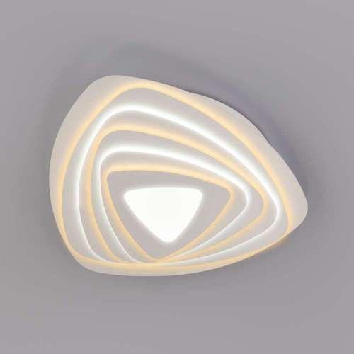 Светодиодный потолочный светильник с пультом управления 90150/6 белый Eurosvet