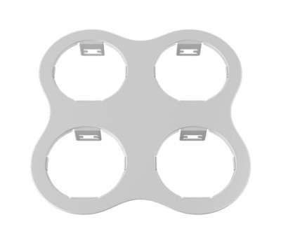 214646 Domino Рамка для точечного светильника Lightstar от Lightstar в магазине декоративного освещения Питерский свет