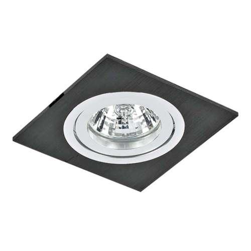 011007 BanaleWeng Светильник точечный встраиваемый декоративный под заменяемые галогенные или LED лампы Lightstar