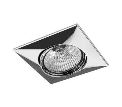 011034 Lega16 Светильник точечный встраиваемый декоративный под заменяемые галогенные или LED лампы Lightstar