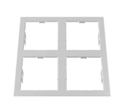 214546 Domino Рамка для точечного светильника Lightstar от Lightstar в магазине декоративного освещения Питерский свет