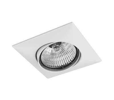 011030 Lega16 Светильник точечный встраиваемый декоративный под заменяемые галогенные или LED лампы Lightstar
