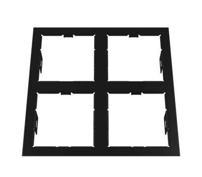 214547 Domino Рамка для точечного светильника Lightstar от Lightstar в магазине декоративного освещения Питерский свет