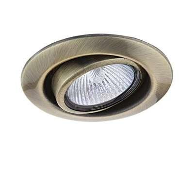 011081 Tesoadj Светильник точечный встраиваемый декоративный под заменяемые галогенные или LED лампы Lightstar от Lightstar в магазине декоративного освещения Питерский свет