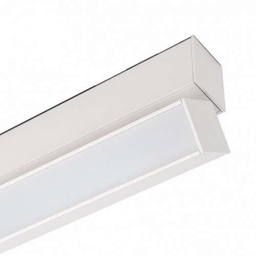 Светильник 12W Белый теплый MAG-FLAT-FOLD-45-S405 100deg  24V на магнитный шинопровод белый 026989 Arlight
