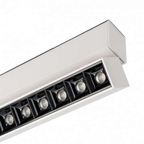 Светильник 12W Белый теплый  MAG-LASER-FOLD-45-S320 15deg  24V на магнитный шинопровод белый 026972 Arlight