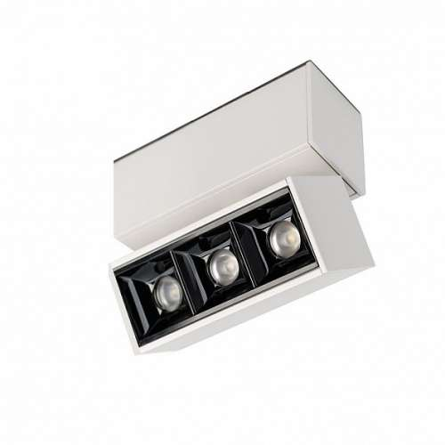 Светильник  3W Белый теплый MAG-LASER-FOLD-45-S84 15deg  24V на магнитный шинопровод белый 027627 Arlight
